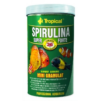 Tropical Spirulina 36% Mini Granulat