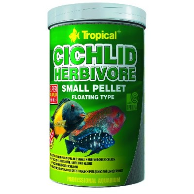 "Tropical Cichlid Herbivore Pellet ""S"" 1000ml"